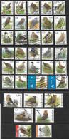 Set Buzin Fauna Stamps In Euro !! - 1985-.. Vögel (Buzin)