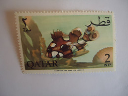 QATAR   MNH   STAMPS  FISH   FISHES - Qatar