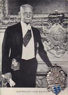 AK Rupprecht Von Bayern - Mit Anstecknadel Leutstetten 1954  (55502) - Royal Families