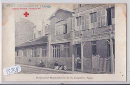 PARIS- LA JONQUIERE- DISPENSAIRE-HOPITAL-ECOLE- CROIX ROUGE FRANCAISE- UNION FEMMES DE FRANCE- - Salute, Ospedali