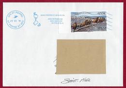 """St.Pierre Et Miquelon  2019 Oblitéré YT 1215    """" Langlade  Terre De Naufrages  """" Néopost St.Pierre - Covers & Documents"""