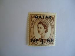QATAR   MNH    STAMPS  QUEEN OVERPRINT - Qatar