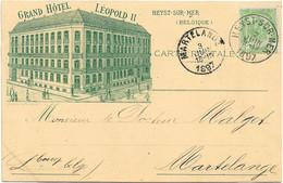 Heyst-sur-Mer (Knokke-Heist) - Grand Hôtel Léopold II - Heist