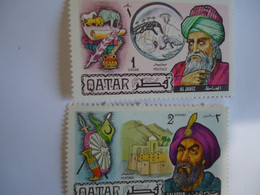 QATAR   MNH  STAMPS  HISTORY - Qatar