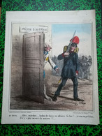 Guerre D'Italie: Litho Destouches, Dessiné Par Cham - Stiche & Gravuren