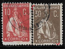 PORTUGAL 30C Ceres- Marcofilia MINA DE S.DOMINGOS R:3+ Cliche III- VFU No Faults - Usati