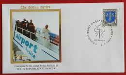 SLOVENSKO SLOVAKIA 1995 KOSICE JAN PAVOL II POPE JOHN PAUL II VISIT - Cartas
