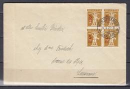Brief Van Winterthur Naar Lausanne - Covers & Documents