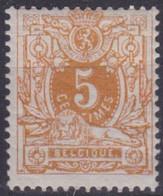 Belgie  .  OBP  .   28 B     .   *    .   Ongebruikt Met Gom   .   / .   Neuf Avec Gomme - 1869-1888 Leone Coricato