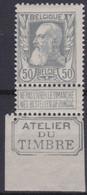 Belgie  .  OBP  .     78  (2 Scans)       .   *    .   Ongebruikt Met Gom   .   / .   Neuf Avec Gomme - 1905 Barba Grossa