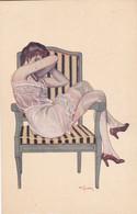Rue De La Paix, A Jarach, Erotic Postcard, Illustrator, Pretty Young Lady (pk80010) - Vrouwen