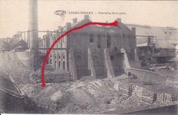 Lodelinsart Verreries De La Paix Charleroi Carte Imprimée - Charleroi