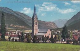 2478) LIENZ In Tirol Mit Pfarrkirche Und Blick Auf Berge ALT !! 1913 - Lienz