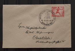 Deutschland Berlin Deutsches Reich Olympia Schwimmstadion 1936 Olympic Games - Briefe U. Dokumente