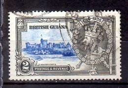 1935 British Guiana 25 Years Of King Georg V Windsdor Castle Used MI 169 - British Guiana (...-1966)