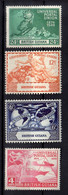 1949 British Guiana Joint Issue 75 Years Of Wold Post Organisation MLH * MiNr. 192 - 195 - British Guiana (...-1966)