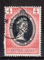 1953 British Guiana Queen Elisabeth II Used MI 198 - British Guiana (...-1966)