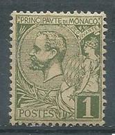 Monaco YT N°11 Prince Albert 1° Neuf/charnière * - Unused Stamps