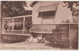 CPA  RARE  Rives Sous Thonon Les Bains (74) Salon De Thé Chez Rosine - Chagny