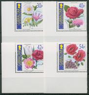 Gibraltar 2003 Europäische Union Blumen 1050/53 Ecken Postfrisch - Gibraltar