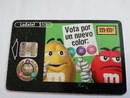 MEXICO $30 CHIPCARD  LADATEL    M & M S           ** 5162** - Mexico