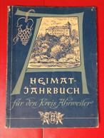 Heimatjahrbuch Kreis Ahrweiler 1954 Ahr - Calendars
