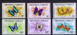 Unused Butterflies 1972 - Trinidad Y Tobago (1962-...)