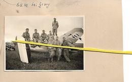 39 002 GEVRY AERODROME  DOLE / TAVAUX  AVIONS FRANCAIS SOLDATS ALLEMANDS JUIN 1940 - Otros Municipios