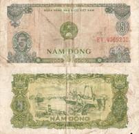 Viet Nam / 5 Dong / 1976 / P-81(a) / VF - Vietnam