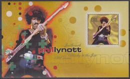 IRLAND  Block 43, Postfrisch **, Rock-Legenden, 2002 - Hojas Y Bloques