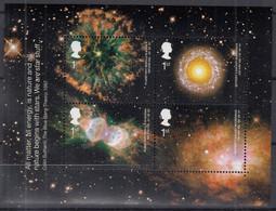 GROSSBRITANNIEN  Block 15, Postfrisch **, Astronomie, 2002 - Blocks & Kleinbögen