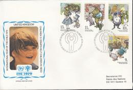 GROSSBRITANNIEN  797-800, FDC, UNICEF, Internationales Jahr Des Kindes, 1979 - 1971-1980 Dezimalausgaben