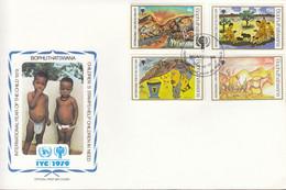 Bophuthatswana  43-46, FDC, UNICEF, Internationales Jahr Des Kindes, 1979 - Bophuthatswana