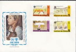 TRISTAN DA CUNHA  266-269, FDC, UNICEF, Internationales Jahr Des Kindes, 1979 - Tristan Da Cunha