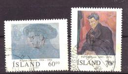 IJsland / Iceland / Island 751 & 752 Used (1991) - Gebraucht