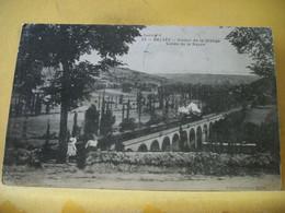 24 8025 CPA 1915 - VUE DIFFERENTE N° 1 - 24 BELVES. VIADUC DE LA GRANGE. VALLEE DE LA NAUZE - ANIMATION. TRAIN - Structures