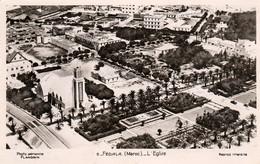 FEDALAH,  FEDHALA Ou FEDALA (Mohammédia - Maroc) - L'Eglise - Vue Aérienne De Flandrin - Cpsm Rare - TBE - Otros