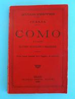 COMO E I Laghi DI COMO - DI LUGANO - DI MAGGIORE ... Italy Old Book (1899) * COMO And The Lakes Of COMO LUGANO .. Italia - Old Books