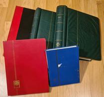 5 ALBUMS DU MONDE - POUR ÉTUDE - Collections (with Albums)