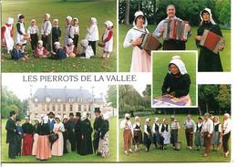 27780 GARENNES-SUR-EURE - Groupe De Traditions Populaires : Les Pierrots De La Vallée, Une Dentellière - Sonstige Gemeinden
