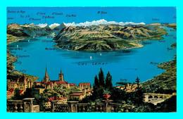 A751 / 219 Suisse Panorama Du Lac Léman Depuis Lausanne - VD Vaud