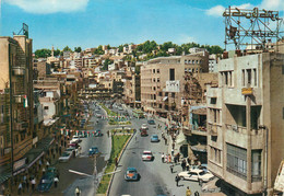 "CPSM  JORDANIE ""Amman, Rue Du Roi Feisal"" - Jordan"