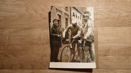 Cyclisme - Photo Course De La Paix 1961 : Varsovie - Berlin - Pragues-5e Etape Hiedszychod-Szczecin- Kapitonov + Moskvyn - Unclassified