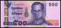 RO) 2011 THAILAND, BANKNOTE 500 BAHT, BHUMIBOL ADULYADEJ-KING-RAMA IX,UNCIRCULATED. - Thailand