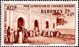 Dahomey Avion N** Yv: 7 Mi:157 Dispensaire à Mopti - Unused Stamps