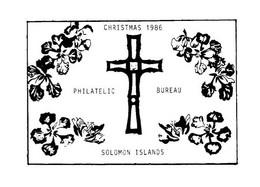(MM 27) Solomon Islands Christmas 1986 - Solomon Islands