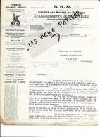 24 - Dordogne - SARLAT-EN-PERIGORD - Facture MATHIEU - Bois, Exploitations Forestières, Etc - 1925 - REF 186A - 1900 – 1949