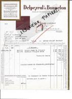 24 - Dordogne - SARLAT-EN-PERIGORD - Facture DELPEYRAL & BONNEFON - Truffes, Foie Gras, Etc - 1931 - REF 186A - 1900 – 1949