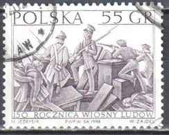 Poland 1998 - Revolutions Of 1848 (Spring Of Nations) - Mi 3701 - Used - Used Stamps