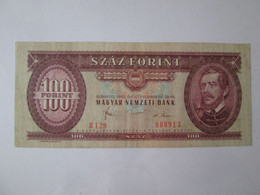 Hungary 100 Forint 1980 Banknote - Hungary
